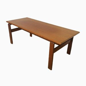 Table Basse Mid-Century en Teck, Danemark, 1970s