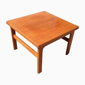 Danish Teak Coffee Table by Nils Bach, 1970s