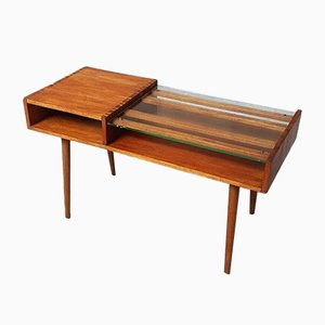 Mid-Century Danish Teak Telephone Table