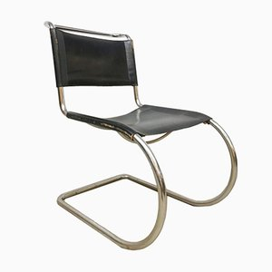 Vintage MR10 Armchair by Mies van der Rohe for Knoll International, 1960s