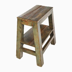 Weathered Wood Stool