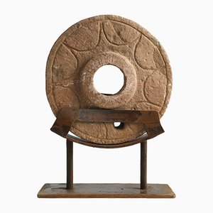 Stone Wheel on Iron Stand, 1890s
