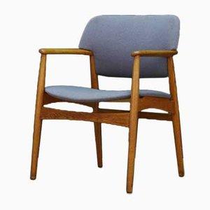 Dänischer Armlehnstuhl von Fritz Hansen, 1960er