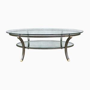 Table Basse Ovale par Pierre Vandel, France, 1970s