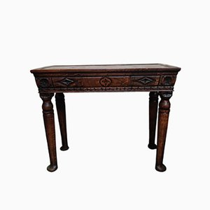 Table d'Entrée Antique en Chêne