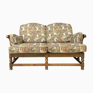 Vintage 2-Seat Colonial Sofa Settee from Ercol