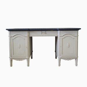 Französischer Mid-Century Esche Schreibtisch im Sezession Stil