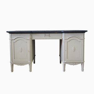 Mid-Century French Secession Style Ash Desk