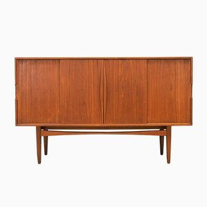 Vintage Danish Teak Highboard, 1970s