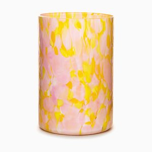 Yellow & Pink Glasses by Stories of Italy, Set of 2