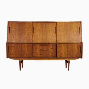 Mid-Century Rosewood Veneer Sideboard, 1960s