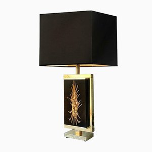 Sculpture Table Lamp by Philippe Cheverny, 1970s