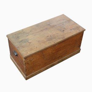 Antique Pine Blanket Box, 1910
