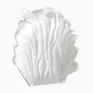 Centro de mesa grande de cerámica blanca de Tommaso Barbi, Italy, años 70