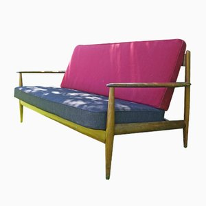 Mid-Century Model 118 Sofa by Grete Jalk for France & Søn / France & Daverkosen