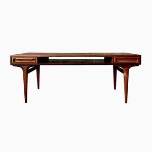 Mid-Century Rosewood Coffee Table by Johannes Andersen, Denmark, 1960s