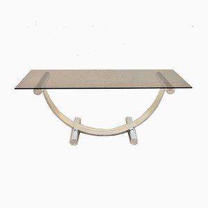 Console Table by Renato Zevi for Sconosciuto, 1970s