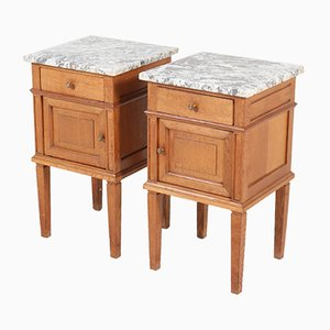 French Art Deco Nightstands, 1930s, Set of 2