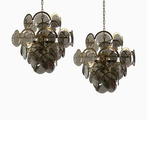 Chandelier from Vistosi, 1960s
