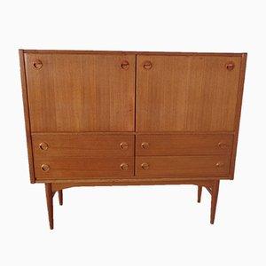 Small Danish Teak Bar Cabinet, 1960s
