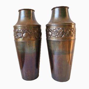 Art Deco Vasen oder Gefäße, 1930er, 2er Set