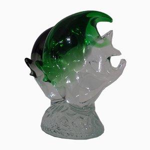 Italian Sommerso Murano Glass Fish, 1970s