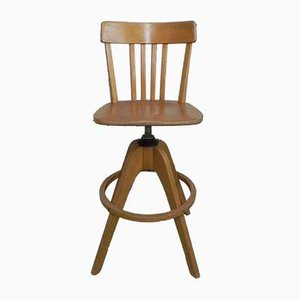 Architect Stool Adjustable in Height, 1950s