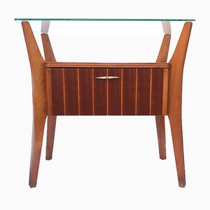 Nachttisch von Gio Ponti für La Permanente Mobili Cantù, 1950er
