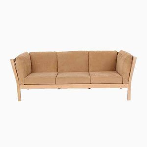 Vintage Danish 3-Seat Sofa Attributed to Andreas Hansen for Brødere Andersen
