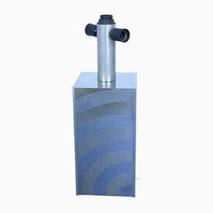 Mid-Century Metall und Messing Tischlampe