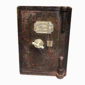 Small Antique Safe by Stephen Cox & Son