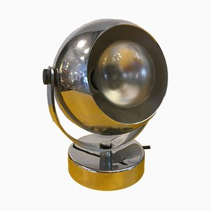 Mid-Century Chrome Ball Spotlight from Reggiani, 1970s