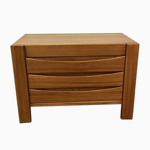 French Elm Chest of Drawers from Maison Regain, 1970s