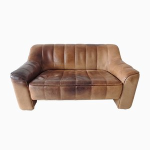 Leather Model DS44 2-Seat Sofa from de Sede, 1970s