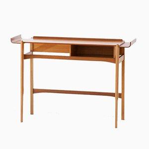 Mid-Century Modern Italian Teak Console Table, 1950s