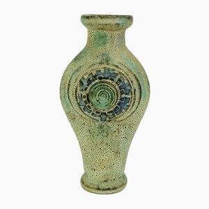Mid-Century Keramik Modell-Nr. 1111/30 Vase mit Maya Dekor von Jopeko, 1960er
