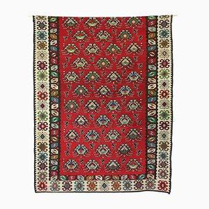 Large Vintage Turkish Kilim Wall Rug