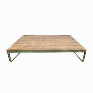Low Industrial Coffee Table, 1960s