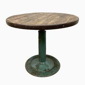 Table Basse Circle Industrielle, 1960s