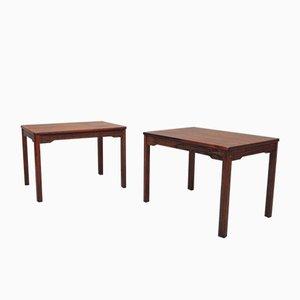 Tables d'Appoint en Palissandre de Alberts Tibro, 1970s, Set de 2