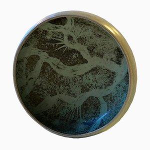 Danish Bowl with Crystalline Glaze by Einar Johansen, 1960s