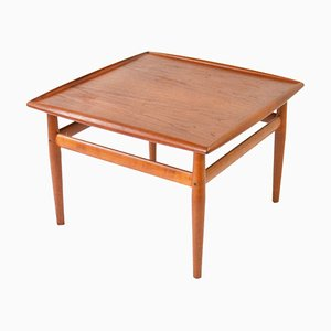 Vintage Teak Coffee Table by Grete Jalk for Glostrup, 1960s