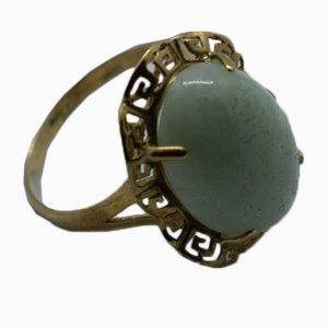 Anillo vintage de jade