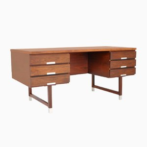 Rosewood Desk by Eigil Petersen, 1960s