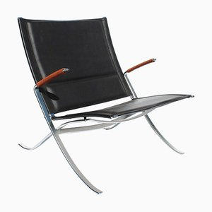 Model FK82 X-Easy Chair by Preben Fabricius & Jørgen Kastholm for Lange Production, 1980s