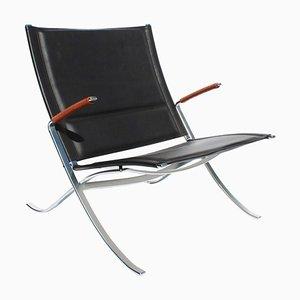 Modell FK82 X-Easy Chair von Preben Fabricius & Jørgen Kastholm für Lange Production, 1980er