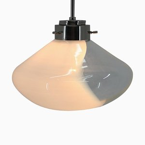 Mid-Century Art Glass Pendant Lamp from Kamenicky Senov, 1970s