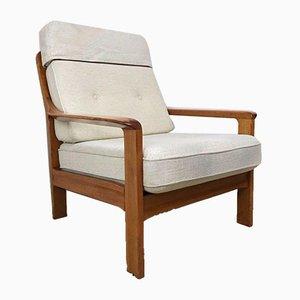 Danish Modern Teak Lounge Chair, 1970s