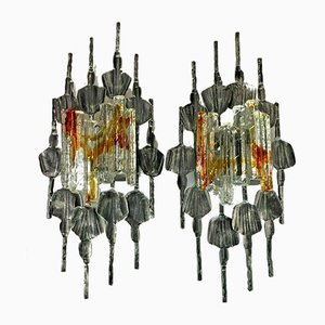 Brutalistische Wandlampe von Tom Ahlström & Hans Ehrlich, 1960er