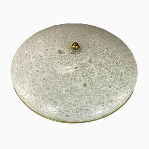 Space Age Flush Mount or Wall Light from Doria, 1960s